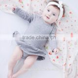 2017 wholesale new design 100% cotton baby onesie