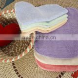 Solid Color Soft Bamboo Fiber Dish Towels