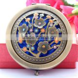 Cosmetic Makeup Hand Mirror,Pop Design Double Compact Magnifying Purse Mirror