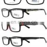 ready goods wooden eyewear stocks acetate optical frame