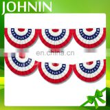 Professional customized cheap price decorative American flag bunting