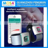 2015 New Baby iFever Intelligent Wearable Electronic Thermometer Bluetooth Smart Baby Monitor Household Thermometer