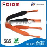 Promotional custom logo high quality mounted safety outdoor elastic neoprene premium gym eyewear strap
