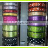 a variety of 1-5inch 3-100mm satin ribbon