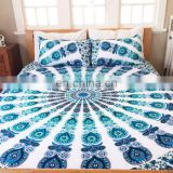 Indian Handmade Mandala Duvet Cover Cotton Comferter Doona Cover Quilt Bedding