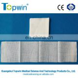 Disposable nonwoven medical absorbent sterile gauze swabs with CE ISO