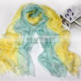 spring modal fabric scarf ,long scarf with silver thread SDV-007