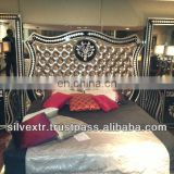 Galleria Special Carved Bed Set High Gloss Polish