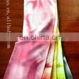 2015 fashional printed design hot sell 100% polyester lady's head scarf