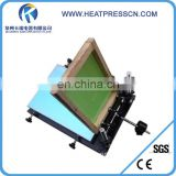 Good quality Manual 1 color screen printing press machine