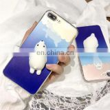 New Arrived Custom Made Squishy Cats 3d Kneading Squishy Toy Luxury 3d Phone Case For Iphone