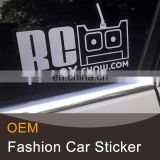 Funny shape car side mirror stickers