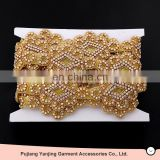 FACTORY DIRECTLY! Best Prices Latest excellent quality crystal beaded wedding dress belt