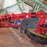 HAOYO Marine Crane Offshore Hydraulic telescopic arm marine cranes for sale with BV CCS CE ABS Certification