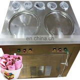 Best selling and popular stir yogurt machine commercial ice cream roll making machine can mix with various kinds of toppings