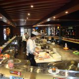 Sushi train Sushi convery belt Conveyor belt Sushi system supplier: michaeldeng@gdyuyang.com