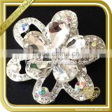 AB Color Crystal Flower Brooch Rhinestone Brooches Pin FB029