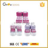 China suppliers cheap price New Born Baby Socks Baby shoe shape sock