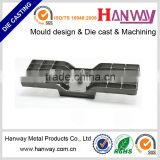 Factory OEM service aluminum die casting sandblast aluminum cnc machining led light heat sink