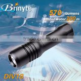 Brinyte DIV18 360 Degree Rotation Mask Diving LED Flashlights                                                                         Quality Choice                                                     Most Popular