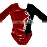 Long sleeve girl's gymnastics leotard