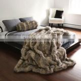 alibaba china wholesale minky faux fur throw blanket                                                                         Quality Choice
