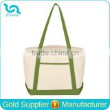 Custom High Quality Standard Size Canvas Tote Bag Blank