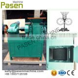 rice husk charcoal coal briquetting press machine
