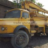 used good-condition concrete pump truck Schwing 22m for sale/22 28 34m secondhand pump truck for sale