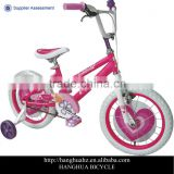 HH-K1641 16 inch beautiful bmx children bicycle for girls with wheel card