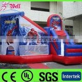 inflatable bouncer spiderman / inflatable bouncer games for kids / inflatable jumping bouncer                                                                         Quality Choice