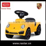 ABS plastic ride on style car type baby walker toy for little baby