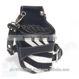 Leather Hairdressing Scissors Holster Holder Waist Bag Pouch