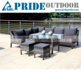 Modern Wicker Sets Rattan Sofa Philippines Natural Courtyard Furniture Outdoor Rattan Sofa
