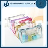 Clear Transparent PVC Cosmetic Organizer Makeup Pouches Bag