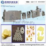 snack pellet Frying Snacks Extruder,pellet snacks making machine,3D snack pellets production line