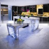 Factory supply Decorative Glass glass partition for kitchen outdoor glass partition living room partition wall