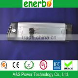 High quality 24V,10A e-bike rechargeable battery pack lithium ion battery with no memory effect