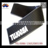 Fashionable customized good quality PVC soft rubber Bar pad drink mat pad cup pad
