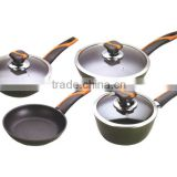 7PCS Porcelain Enamel Cookware Set C1128