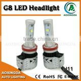 H11 CANBUS LED headlight adjustable G8 LED headlight with CREE XHP50 chip