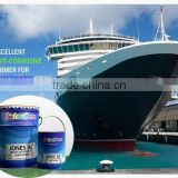 Anti corrosive Primer Chlorinated Rubber for Underwater Steel surfaces High quality JIS Standard JONES AC