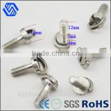 Long thread M6 Stainless steel camera screw with d-ring                                                                         Quality Choice
