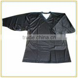 Blank black knitted training sublimation ice hockey jerseys /practice jersey for team fans