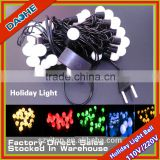 LED Twinkle Light Ball 220V/110V Christmas String 5 Meters 50 LED Single Color White Warm White Red Blue Green Yellow EU US Plug
