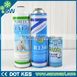 Environmentally friendly factory manufacture 99.9% purity n-butane refrigerant r134a gas