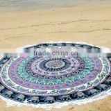 Indian Cotton Hippie Roundie Yoga Mat Beach Throw Designer Wall Hanging Mandala Tapestry Home Dorm Decor