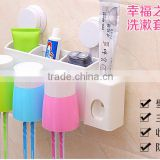 Hang wall wash gargle suit, dust suction cup toothbrush rack, hanging wall toothbrush box, gargle toothbrush