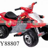 Power four wheels 6V battery-powered ride-on beach car red,black,silver,yellow