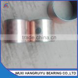 metal backing supports POM with fiber self lubricating bushing sleeve bearings 60 * 65 * 50mm with grease hole